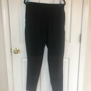 Large black lululemon joggers